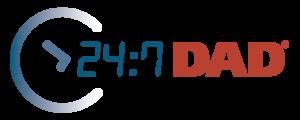 24-7 Dad logo